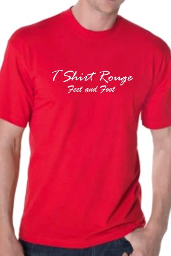 And Foot T Feet Homme Shirt Le Rouge qVSMpGUz